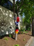 Yarn bombing at The Good Companions Seniors' Centre, Ottawa